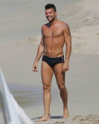 happy birthday ricky martin. Happy birthday, Ricky Martin. When I first saw these controversial beach