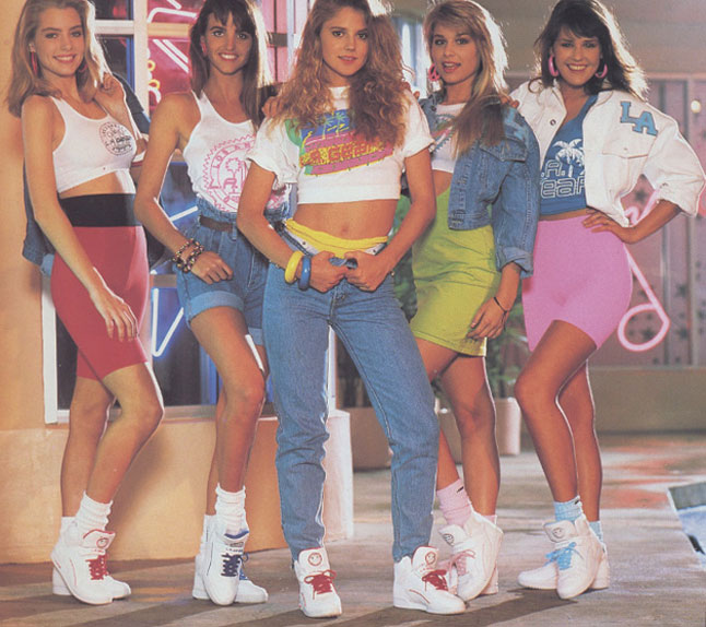 80s Fashion For Teenage Girls For gt Late s Fashion