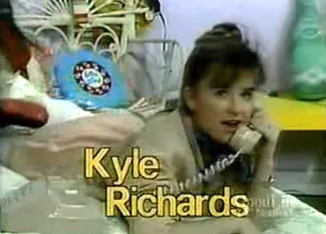 kyle richards hair. Kyle Richards