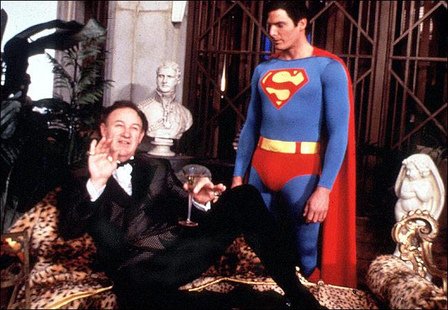 Gene Hackman & Christopher Reeve