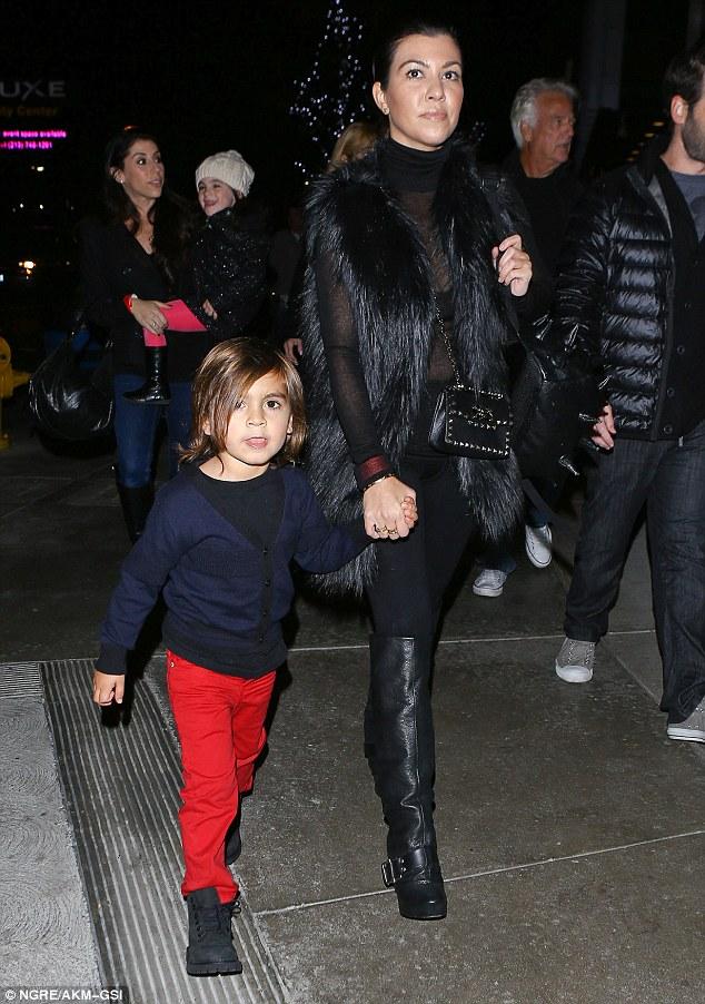 Mason Disick & Kourtney Kardashian