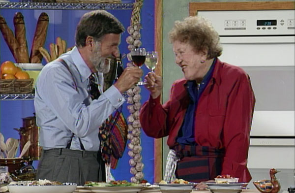 Graham Kerr & Julia Child