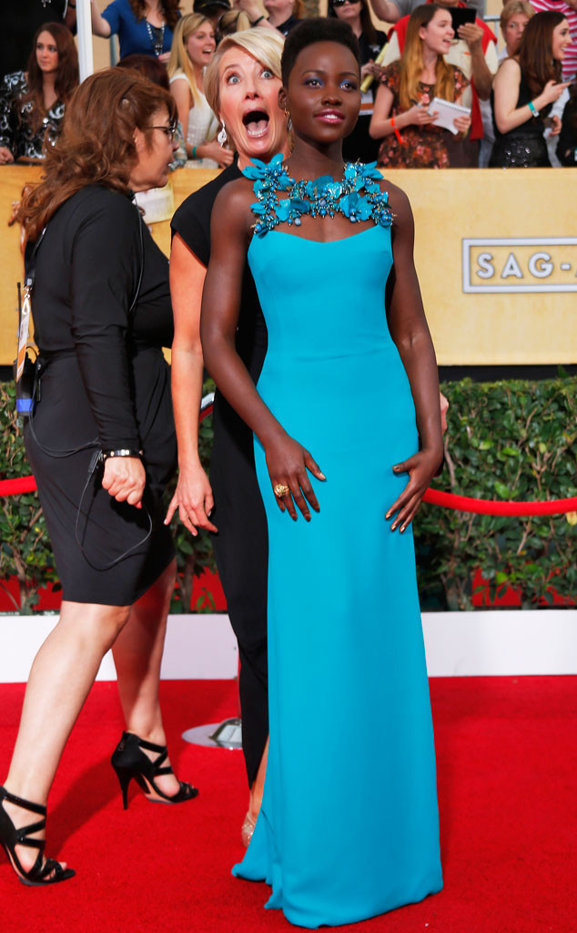 Emma Thompson & Lupita Nyongo